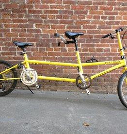 Bike Friday Family Tandem Traveler, Yellow, M captain, s/n 35612