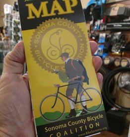 Sonoma County Bicycle Map