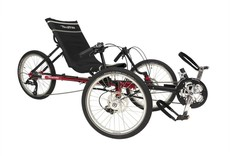 TerraTrike Traveler folding recumbent trike