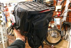 Banjo Brothers Banjo Brothers Rack Top Pannier Bag: Black