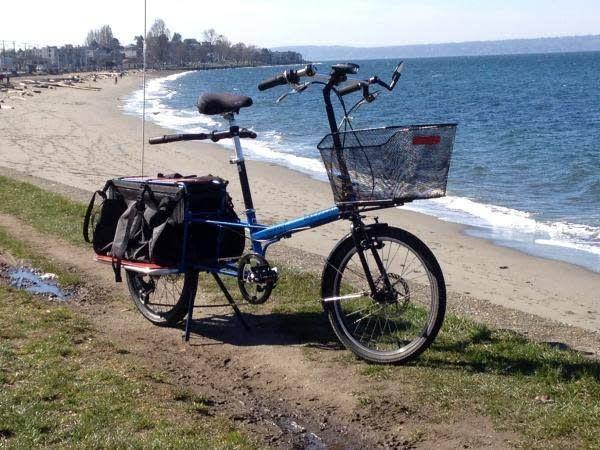 Bike Friday Haul-a-Day DD24 red s/n33015