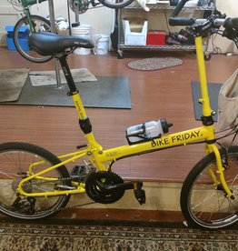 Bike Friday New World Tourist, yellow, 56cm, 36350
