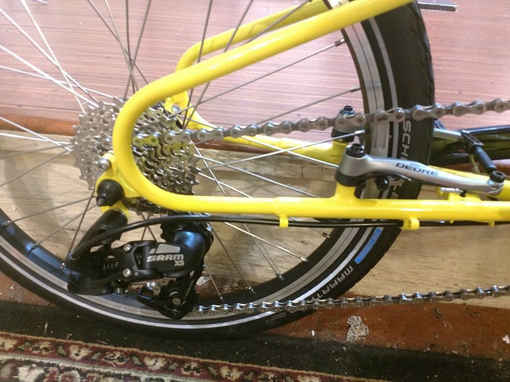 Bike Friday New World Tourist, yellow, 56cm, 36350