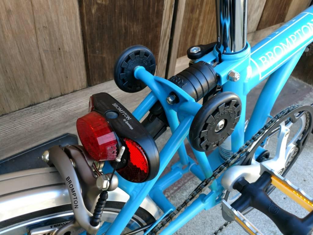 Brompton Brompton S2L, Lagoon Blue