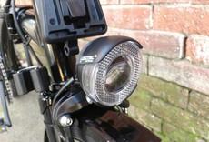 Brompton Brompton Black Edition M6LA, black gloss, dyno lights
