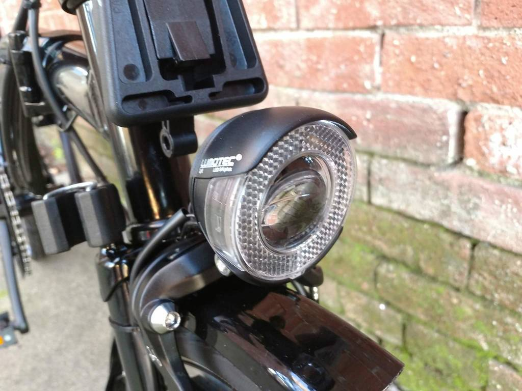 Brompton Brompton Black Edition M6L, black gloss, dyno lights