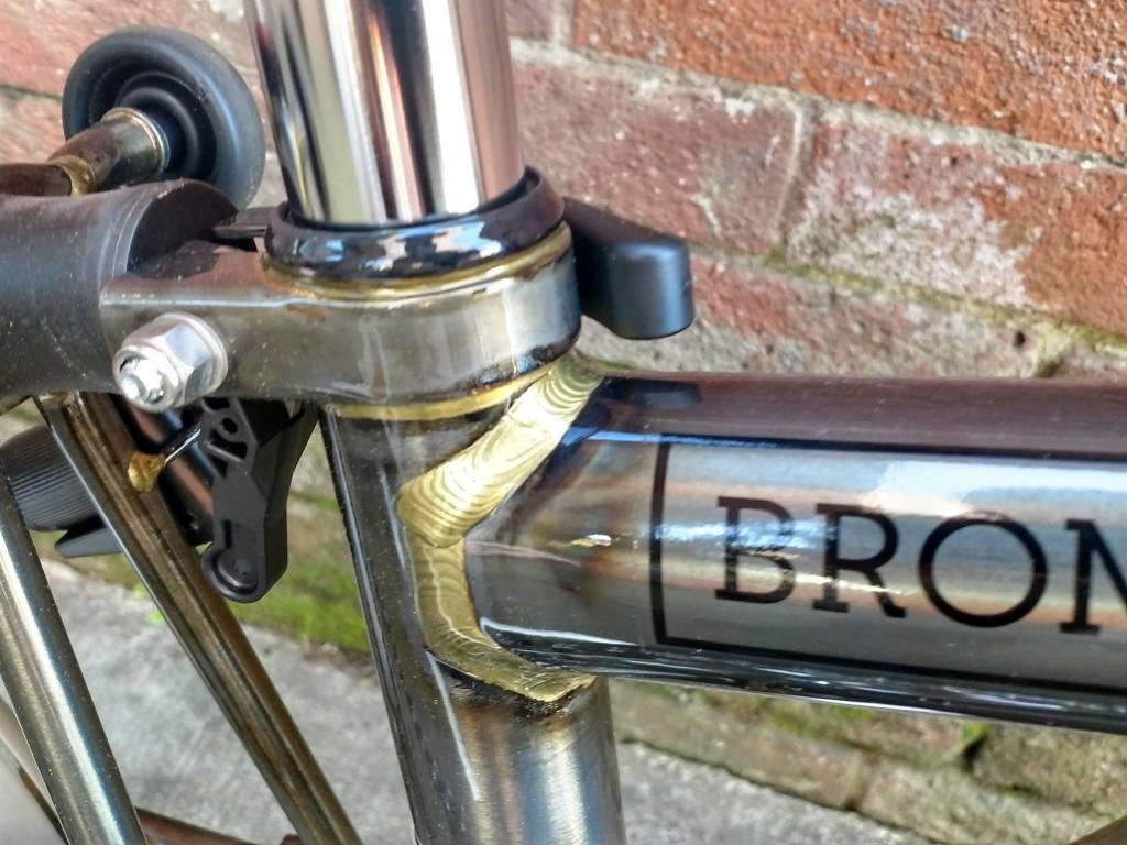 Brompton Brompton H6L, Raw Lacquer, wide saddle
