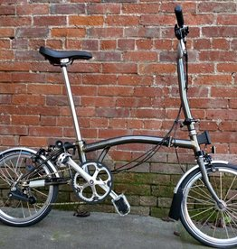 Brompton Brompton H6LA, Raw Lacquer, wide saddle