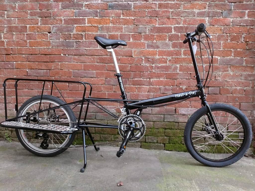 Bike Friday Haul-a-Day, Black, triple, 3x8spd, Whoopie-Deux, BigFoot, orderID182124