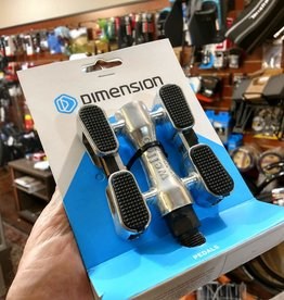 Dimension Cruiser pedals w/grip and reflectors