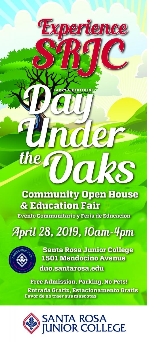 Demo Day Under The Oaks,  Sunday April 28