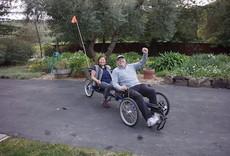 TerraTrike Rover Recumbent Trike
