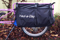 Bike Friday Haul-a-Day Matched set cargo flex size/shape load bags