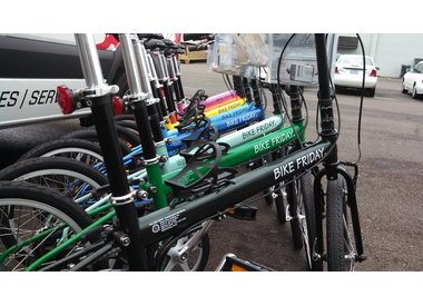 Folding bikes, trikes and ebikes for tour, commute, cargo, travel