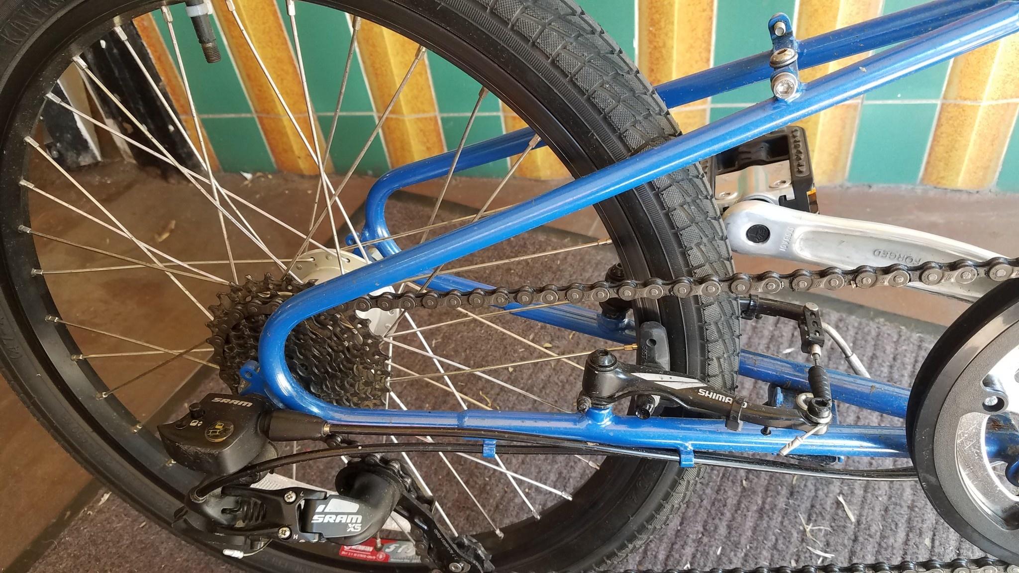 Bike Friday BikeFriday, FOSATA24 DualDrive, cream soda blue, 32446