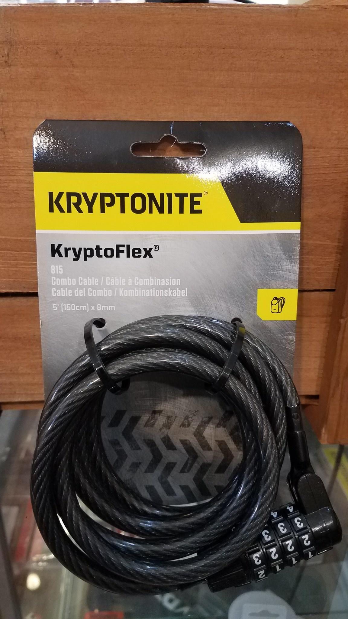 KryptoFlex 815 Combo Cable lock