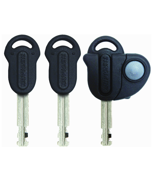 "Kryptonite Evolution Series U-Lock - 4 x 9"", Keyed, Black, Includes bracket (8/10 security)"