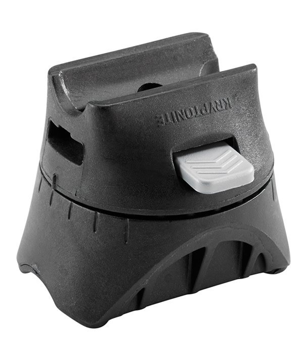 "Kryptonite KryptoLok U-Lock - 4 x 9"", Keyed, Black, Includes bracket (6/10 safety)"