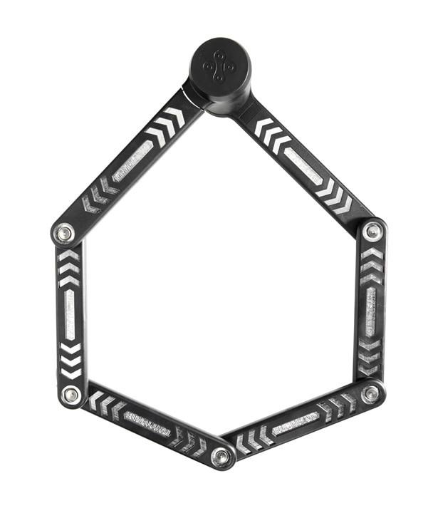 Kryptonite Kryptonite KryptoLok 685 Folding Lock: Black, 85cm, 5mm