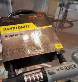 "Kryptonite KryptoLok Combination U-Lock: 4"" x 8"""