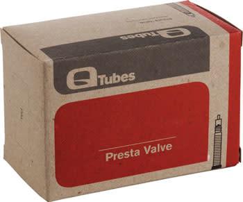 """Q-Tubes 24"""" x 2.1-2.3"""" 32mm Presta Valve Tube 188g"""