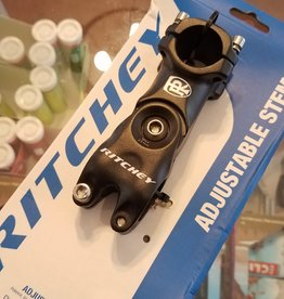 Ritchey Ritchey Adjustable Stem - 80mm, 25.8/26.0mm, Adjustable, Aluminum, Black