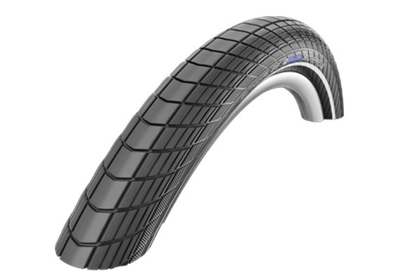 Schwalbe Schwalbe Big Apple Tire, K-Guard, 14 x 2.0 (50-254), Black, Wire