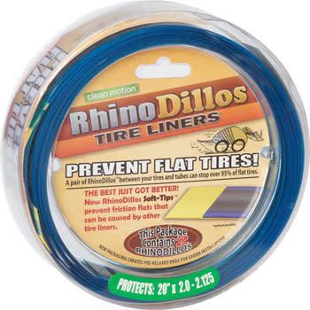 Rhinodillos Tire Liner: 20 x 2.0-2.125, Pair
