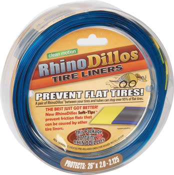 Rhinodillos Tire Liner: 26 x 2.0-2.125, Pair