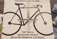 TiGr Bow lock, Titanium, small, 1.25x18