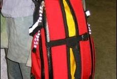 Arkel Arkel,Tailrider Bike Trunk Bag, Red