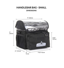 Arkel Arkel Handlebar Bag, Small, Black