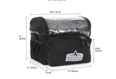 Arkel Arkel Handlebar Bag, Large, Black