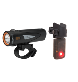 Light & Motion Combo Urban 500 + Vya Smart Taillight