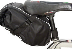 Banjo Brothers Waterproof Saddle Trunk: Black
