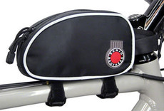 Banjo Brothers Banjo Brothers Top Tube Bag: Black, LG