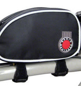 Banjo Brothers Banjo Brothers Top Tube Bag: Black, LG