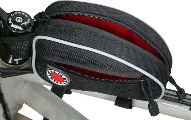 Banjo Brothers Top Tube Bag: Black, LG
