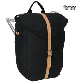 Banjo Brothers Banjo Brothers Minnehaha Canvas Utility Pannier: Black, Each