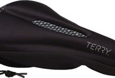 Terry Gel Saddle Cover: Black