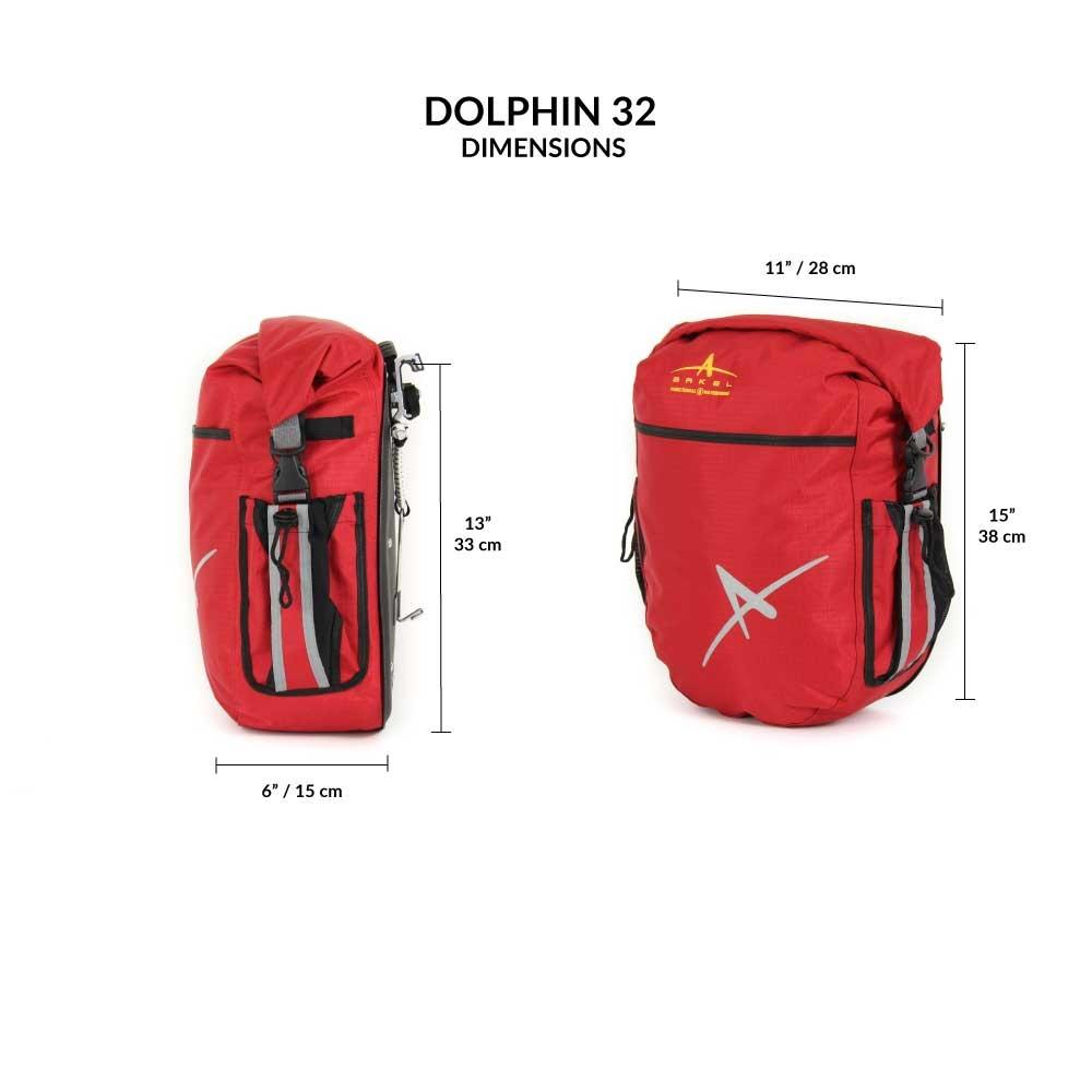 Arkel Arkel Dolphin 32 Waterproof Bike Panniers (Pair)