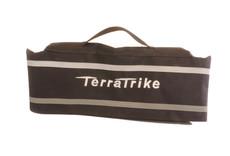 TerraTrike TerraTrike Seat Bag, Extended Width, Silver Logo