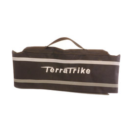 TerraTrike Terra Trike Seat Bag, Extended Width, Silver Logo