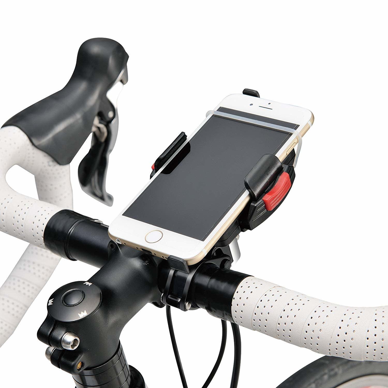 Minoura Smart Phone Standard Handlebar Holder: Fits 22.2, 25.4, and 28.6mm