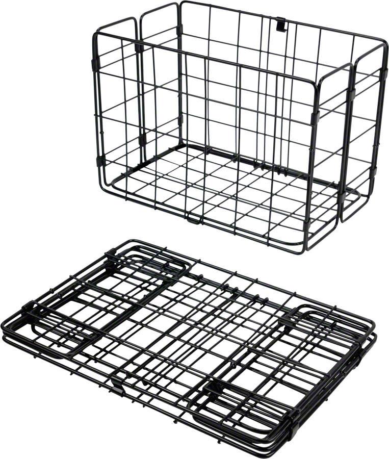 Wald 582 Folding Pannier Basket for Rear Rack (single)