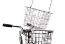 Wald 3133 Front Quick Release Basket with Bolt-On Mount