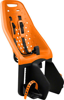Thule Yepp Maxi Easyfit Rack Mount Child Seat: Orange