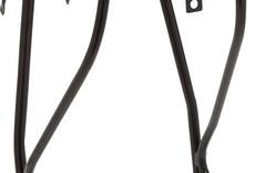 """Planet Bike Planet Bike Versa Disc Brake Compatible Rear Rack: Black.  Fits up to 29"""" wheels"""