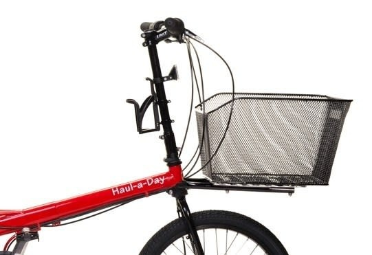 Bike Friday HaD std. Frame Mount rack w/ Plate & Basket
