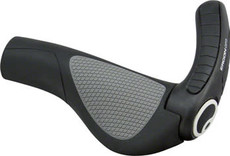 Ergon Ergon GP3-S Grips: Small, Black/Gray